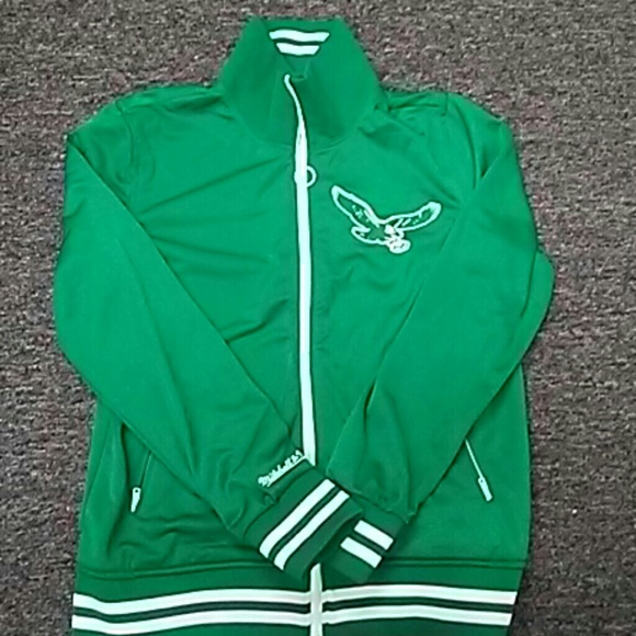 new arrival 2367d 9c2e2 Mitchell & Ness Philadelphia Eagles Jacket
